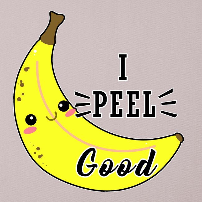 Banana divertente kawaii carina fumetto