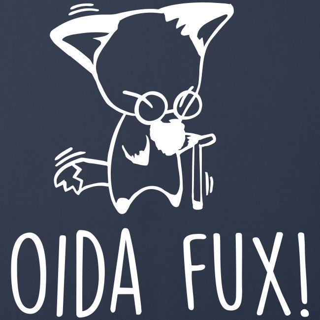 Vorschau: Oida Fux - Sofakissenbezug 44 x 44 cm
