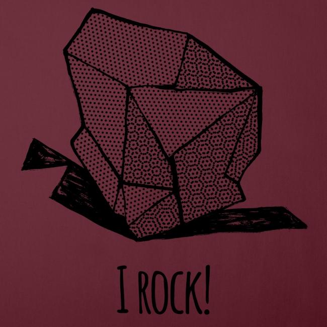 I ROCK No 1 b w