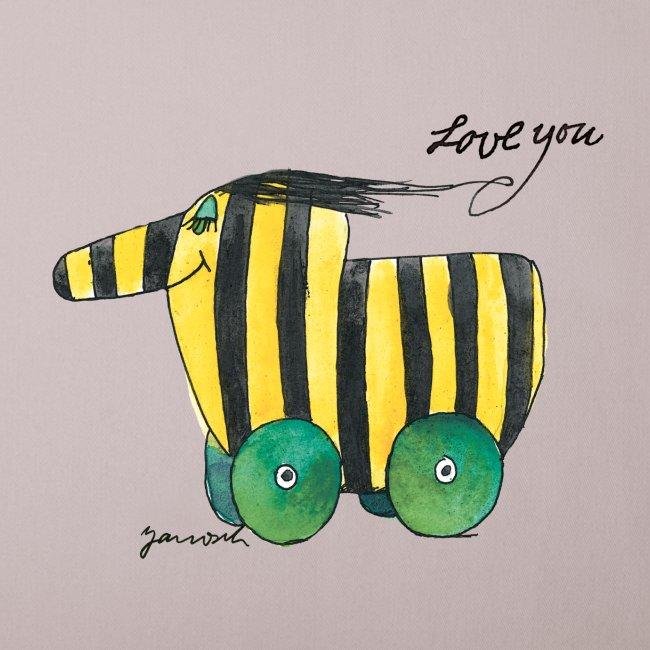 Janosch Tigerente Love you