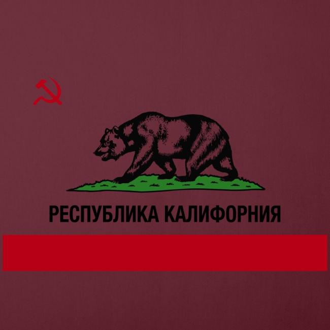 """CALIFORNIA REPUBLIC"" | RUSSIAN CYRILLIC"