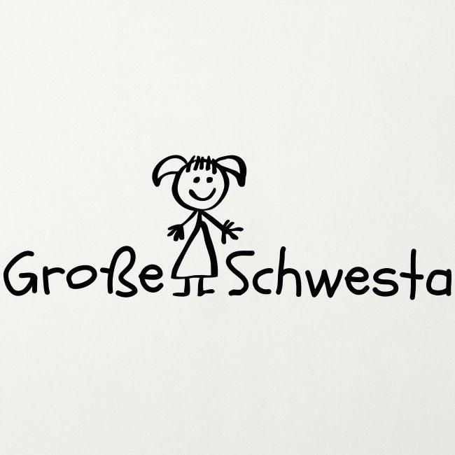 Vorschau: Grosse Schwesta - Sofakissenbezug 44 x 44 cm