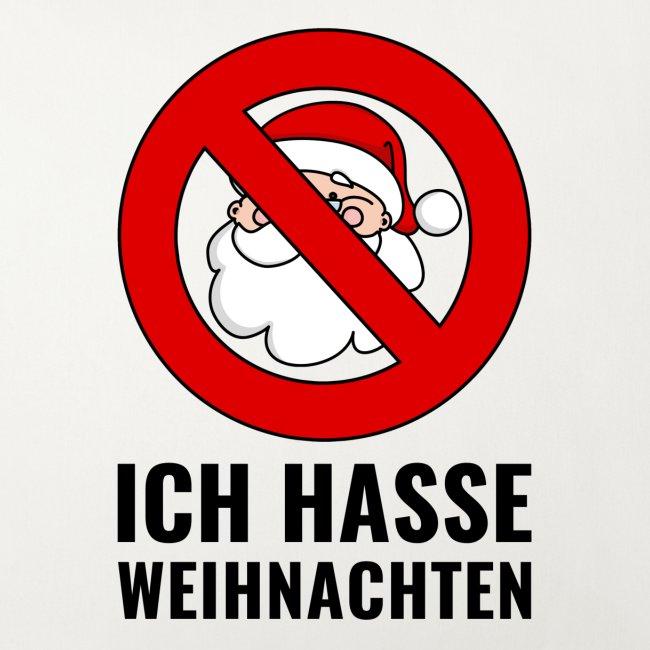 Sprüche Anti Weihnachten.Ich Hasse Weihnachten Weihnachtsmann Schild Santa Sofakissenbezug 44 X 44 Cm