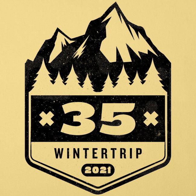 35 ✕ WINTERTRIP ✕ 2021 • BLACK