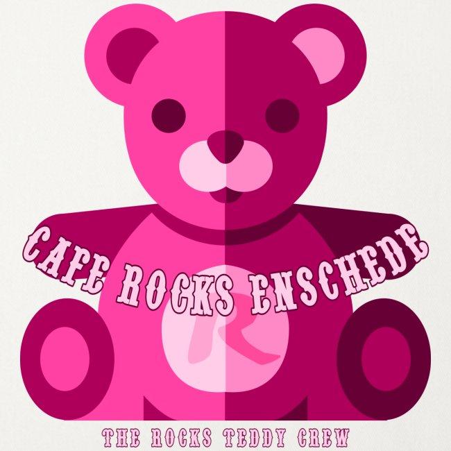 Rocks Teddy Bear - Pink