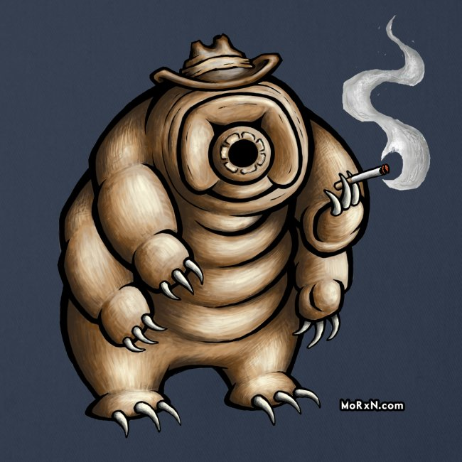 Smokey the Water Bear