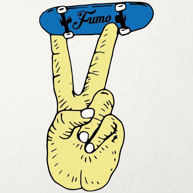 fumo finger skateboard
