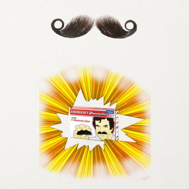 Moustache ad