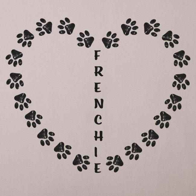Herz - Pfoten - Frenchie - Frenchbulldog