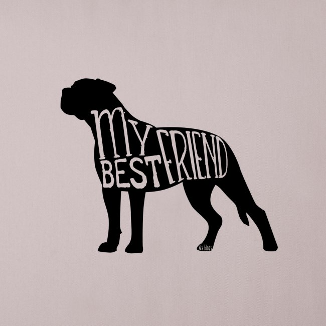 Bullmastiff Best Friend I
