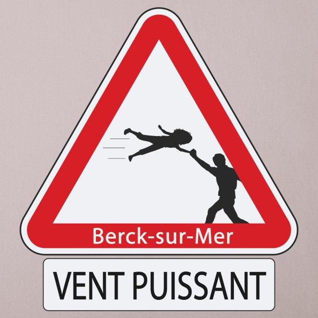 Berck-sur-mer: Vent puissant III