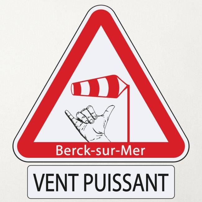 Berck-sur-mer: Vent puissant II