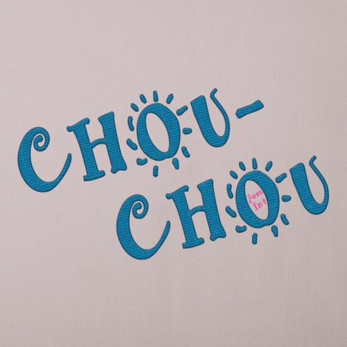 chouchou2 - Housse de coussin décorative 45x 45cm