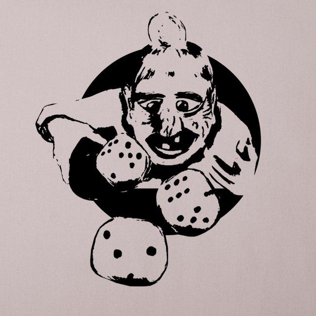Professional Gambler (1c black)
