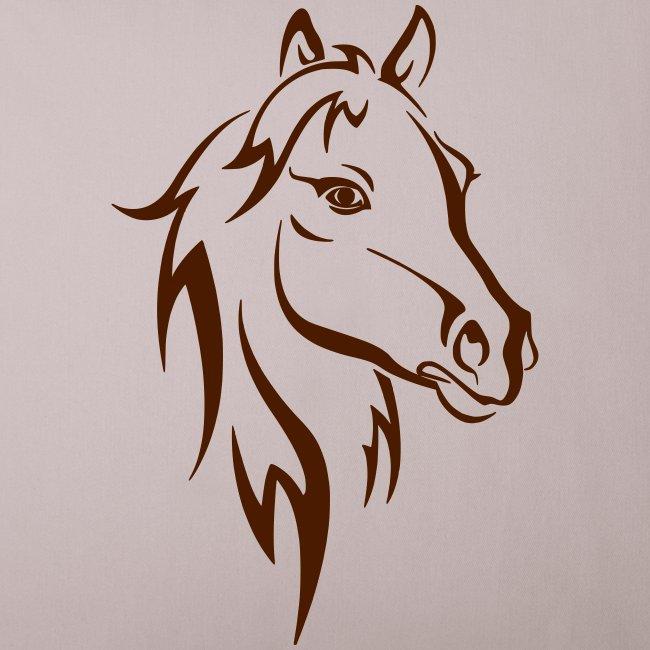 Vorschau: Horse - Sofakissenbezug 44 x 44 cm