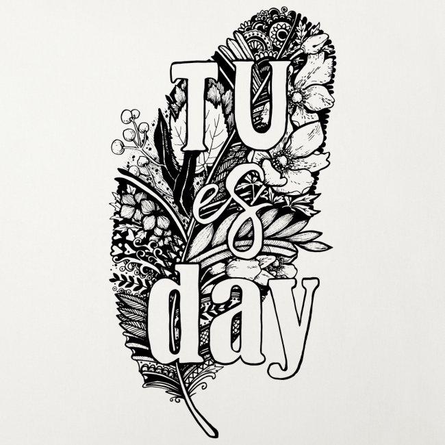 Tu-es-day - white