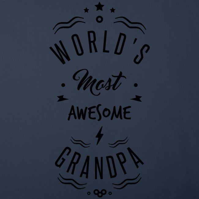 World s most awesome grandpa