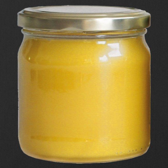 Honungsburk med Maskroshonung