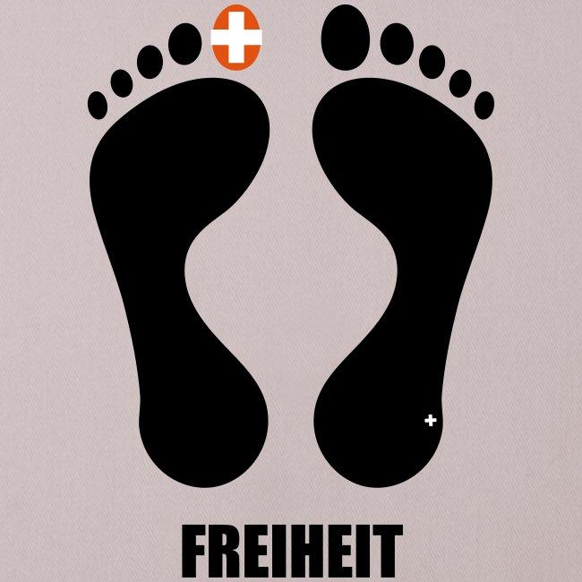 """Barfuss-Logo """"Freiheit"""""""