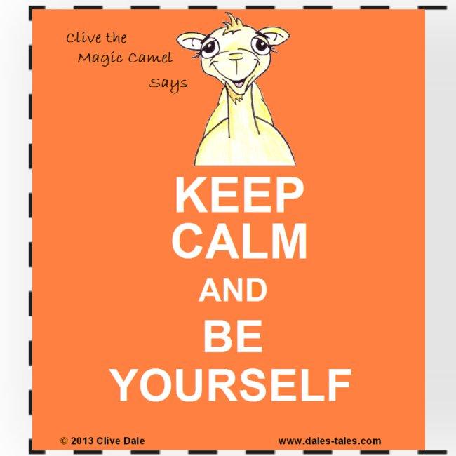 Clive Keep Calm Wish