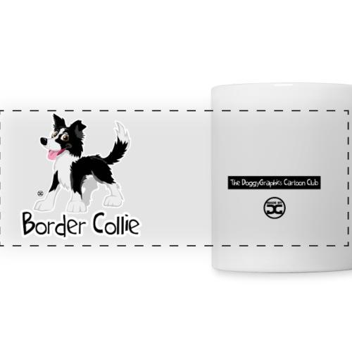 CartoonClub BorderCollie (Black & White) | mug