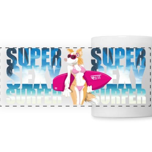 Super Sexy Surfer Jett | mug - Panoramic Mug
