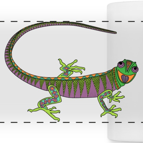 Lizard - Panoramic Mug