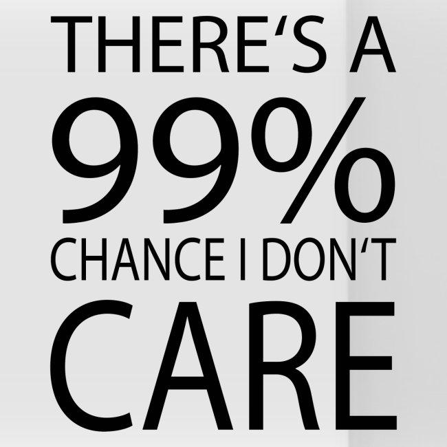 Es ist mir zu 99 Prozent egal