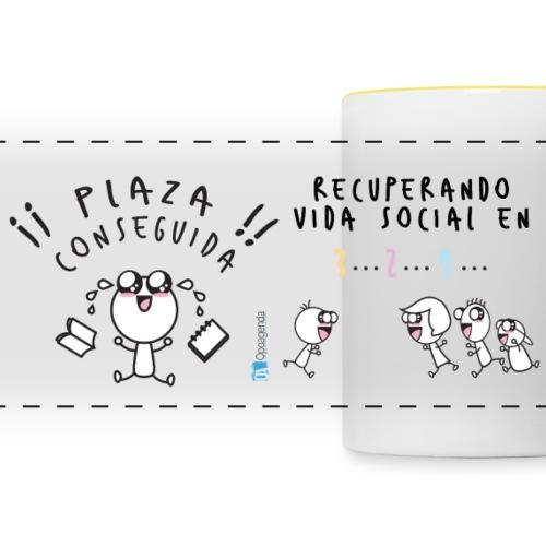 Plaza conseguida: Recuperando vida social en 3 2 1 - Taza panorámica