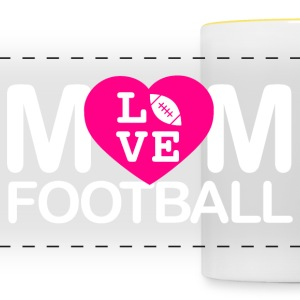 Mom love football - Panoramatasse