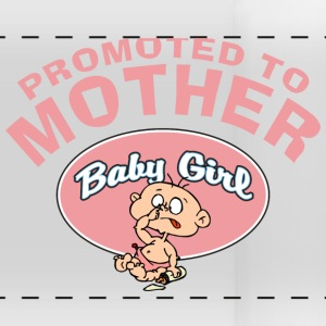 Promoted To Mutter Baby Girl (CUSTOMIZE ADD DATE) - Panoramatasse