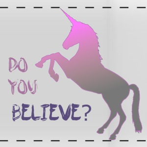 Do you believe in unicorn? - Panoramic Mug