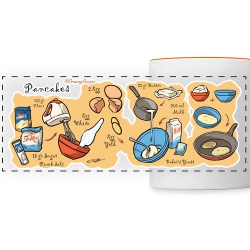 pancakes - Panoramic Mug