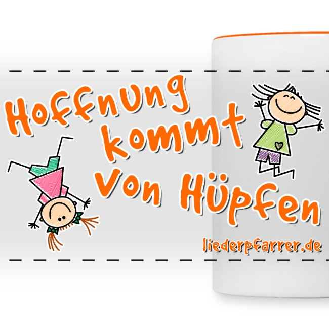 """""""Hoffnung kommt von Hüpfen"""" - Kinder"""