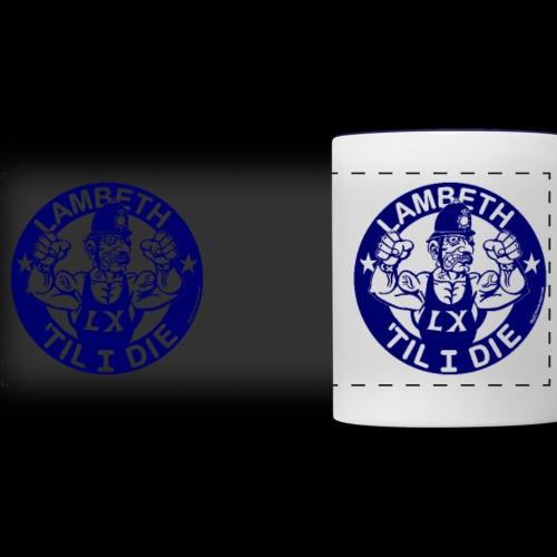 double-sided Bobby police mug design - Panoramic Mug
