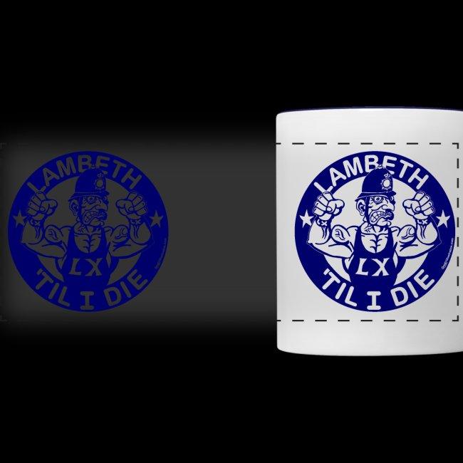 double-sided Bobby police mug design