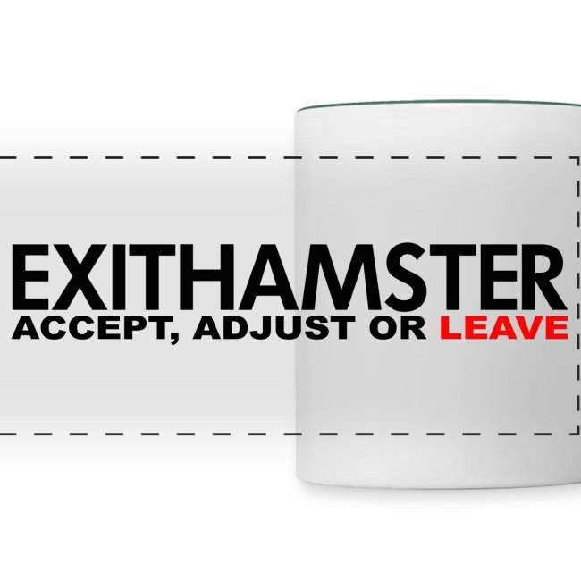 EXITHAMSTER ACCEPT ADJUST LEAVE
