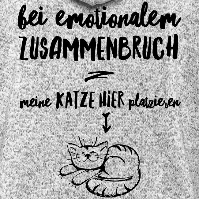 Vorschau: Bei emotionalem Zusammenbruch - Frauen Kapuzen-Fleecejacke