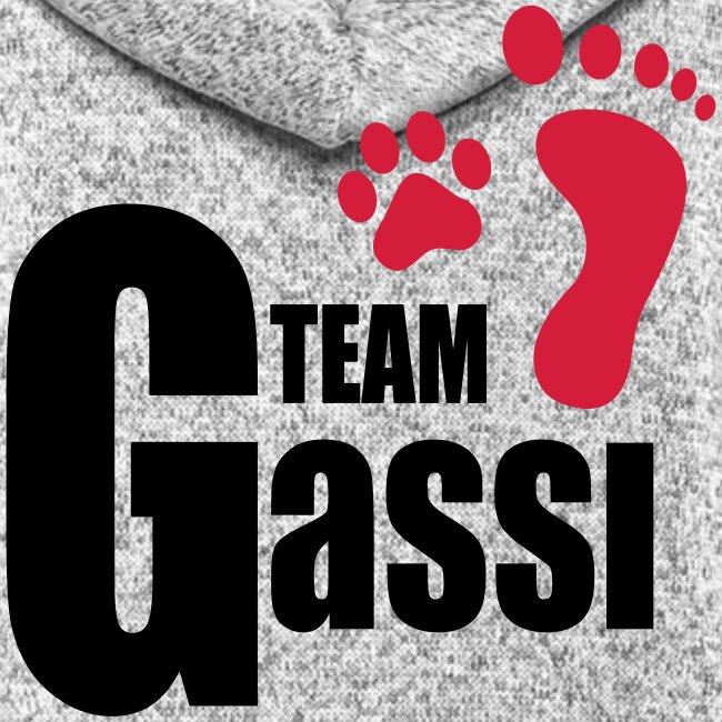 Vorschau: Team Gassi - Frauen Kapuzen-Fleecejacke