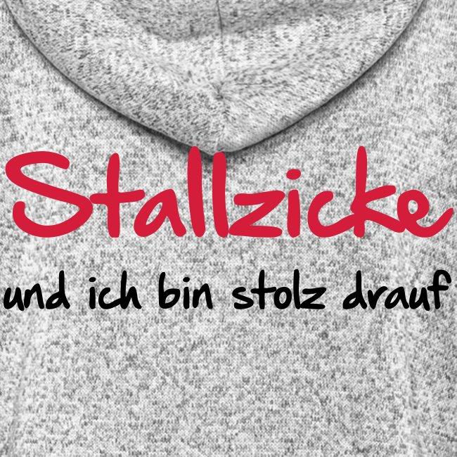 Vorschau: Stallzicke - Frauen Kapuzen-Fleecejacke