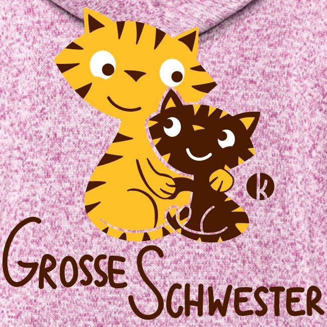 Große Schwester Katzen