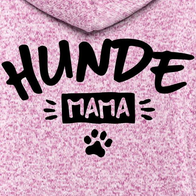 Vorschau: Hunde Mama - Frauen Kapuzen-Fleecejacke