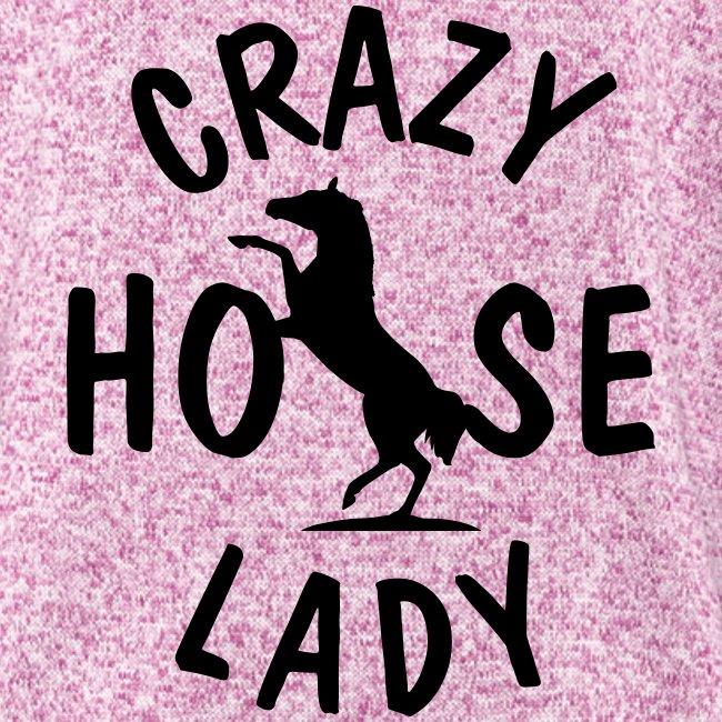 Vorschau: crazy horse lady - Frauen Kapuzen-Fleecejacke
