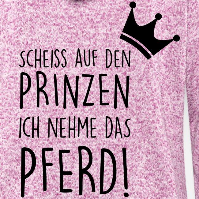 Vorschau: Prinz Pferd - Frauen Kapuzen-Fleecejacke