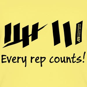 Every rep counts - Frauen Bio Tank Top