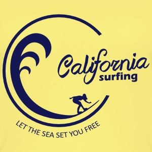 California Surfing 03 - Vrouwen bio tank top