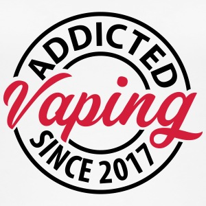 Vaping - Addicted since 2017 - Women's Organic Tank Top