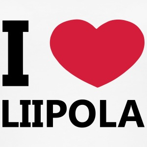 I Love Liipola - Øko-singlet for kvinner