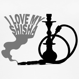 I LOVE MY SHISHA! - Øko-singlet for kvinner