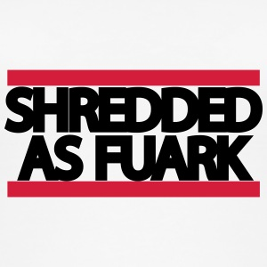 shreddedasfuark - Øko tank top til damer